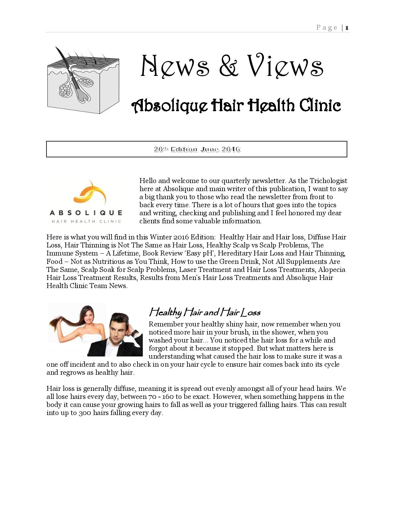 News and Views June 2016