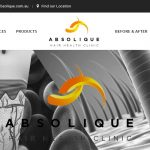New Website Launch, Hair Loss Treatments by Absolique Sydney
