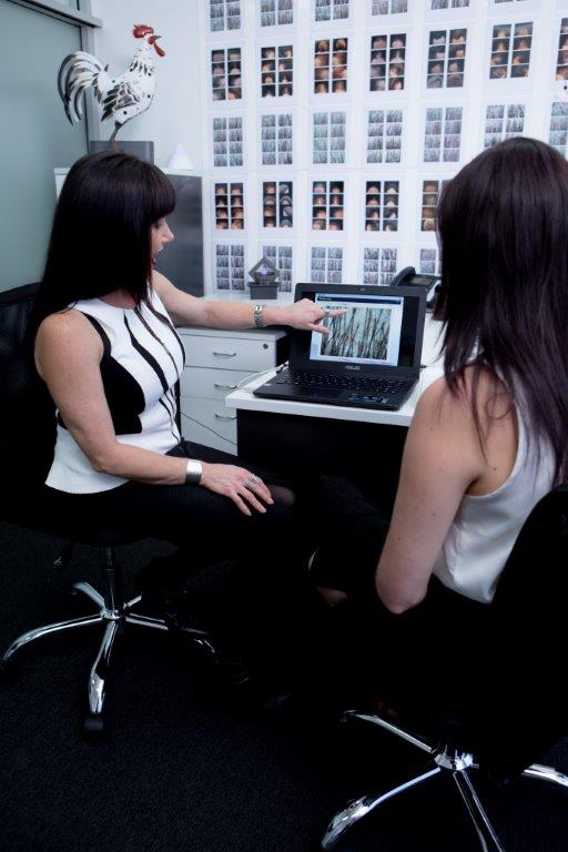 Scope Sessions absolique hair loss treatment clinic Sydney